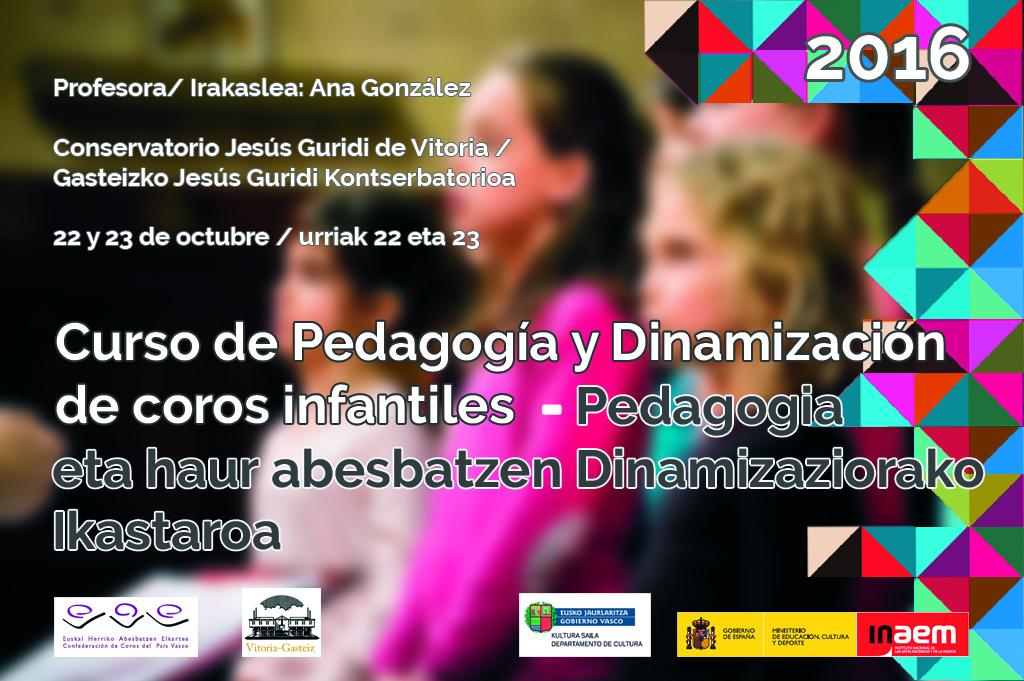Cartel Curso Pedagogia 2016